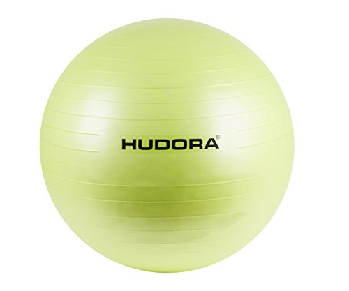 HUDORA Gymnastik-Ball, lemon/grün, 75 cm - Fitness-Ball - 76757