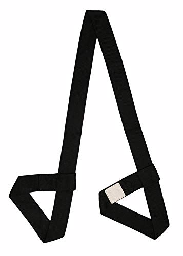Yoga Mat Bag/Strap - for Most Yoga Mat (Black) by Teeyar