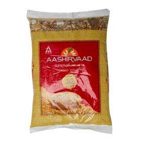 アタ 全粒粉 AASHIRVAAD 1kg ×10袋 CHAKKI ATTA チャッキ アター インド 小麦粉 業務用