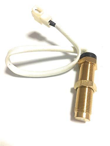 LHQ-HQ 52mm Geschwindigkeitssensor Digital Tachometer Motor-Stundenmeter 0-9990RPM Marine Außenborder LKW-Autoboot wasserdichte RPM-Messgerät (Color : M18x1.5)
