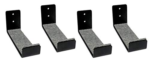 Extreme Max 3006.8438.2 Minimalist Wall Naked Surfboard Rack/Display Mount-Value 2-Pack