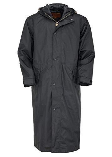 Outback Trading Standard Long Sleeve Rain Coa, Black, Large