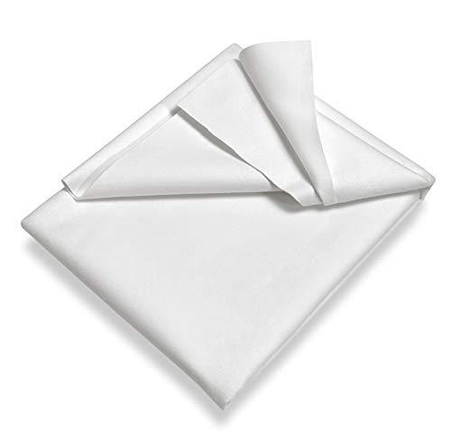 SETEX Molton Matratzenschutz, Doppelpack, 90 x 150 cm, 100 % Baumwolle, Generation, Weiß 14U2090150025002