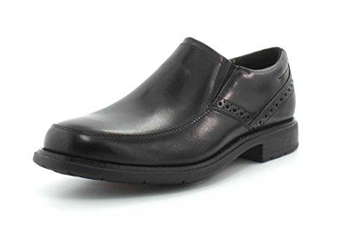 Rockport Men's Total Motion Dress Slip On Shoe, black, 14 M US