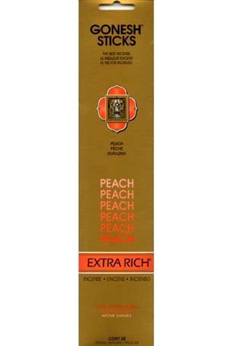 メイドコレクションブラウスGONESH インセンス エクストラリッチスティック PEACH(ピーチ香)