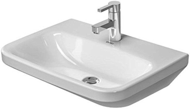 Duravit DuraStyle Waschtisch Med ohne überlauf, 600 mm  600 x 440mm, wei mit Wondergliss 232460007