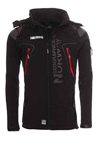Geographical Norway Softshell Jacke G-Forrest - Black - L