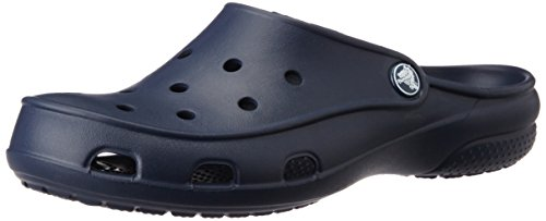 crocs Women's Freesail Clog, Navy, 9 M US