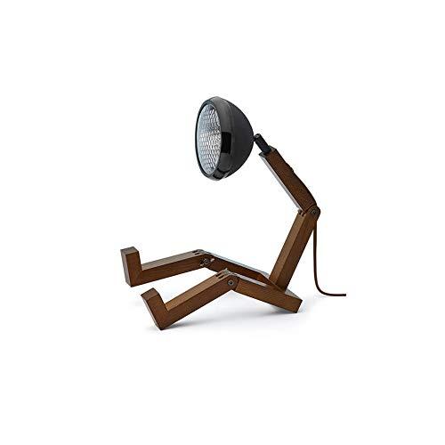 MR WATTSON Original LED Tischlampe Esche smoked Metall schwarz matt 5708311300677