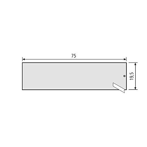 Renz RSA2 V4A naambordje 97-9-85351 van roestvrij staal