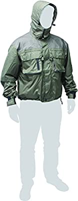 Leeda Volare Fly Wading Waterproof & Breathable Jacket**Sizes Medium - Extra Extra Large**Four Ply Fly Fishing Coat Trout Salmon Fishing from Leeda