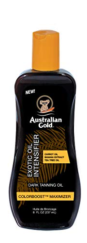 Australian Gold Dark Tanning Exotic Oil, 8 Ounce, Carrot Extract Formula
