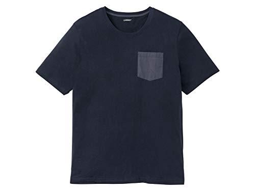 Livergy Herren Sommer-Pyjama Shorty Schlafanzug Pyjama Navy 3XL
