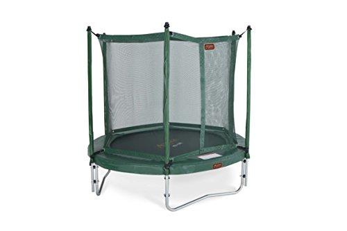 Funsalto Pro-line 3,05 m. Trampolino elastico da esterno con rete di sicurezza