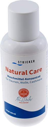 STRICKER Natural Care I Waschmittel-Konzentrat I ideal für Daunen, Wolle, Cashmere I Daunenwaschmittel I für Betten, Kissen, Jacken, Schlafsack
