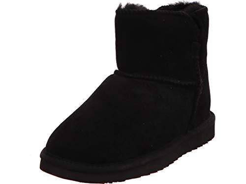Idana Black Schlupfstiefelette Stiefel Boot Damen Schwarz Neu Größe 37 EU Schwarz (schwarz)