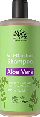 Urtekram Aloe Vera Shampoo Bio, Antischuppen, 500 ml