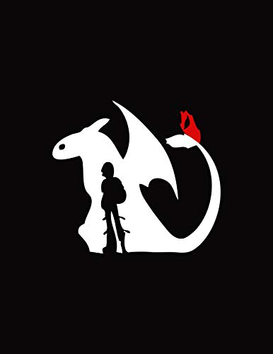 Vinilo Como Entrenar A Tu Dragon  marca SSTS Prints