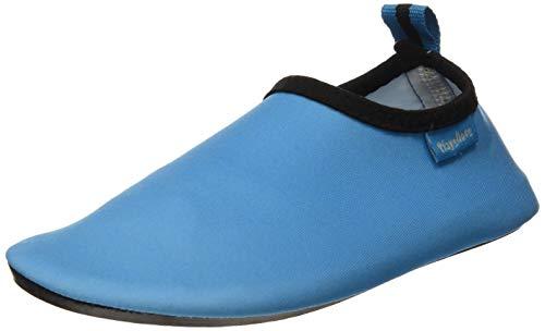 Playshoes Unisex-Kinder Badeslipper Aqua-Schuhe, Blau (blau), 28/29 EU