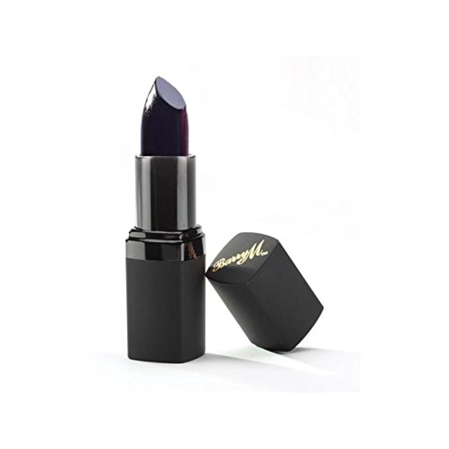 ランデブーバッテリー狂気Barry M Lip Paint Black (Pack of 6) - バリーリップペイントブラック x6 [並行輸入品]