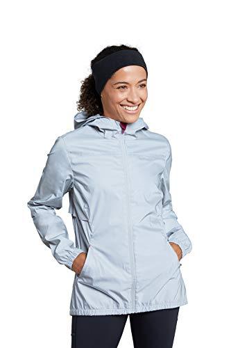 Mountain Warehouse Dashing Womens Reflective Jacket - For Cycling Silver 10