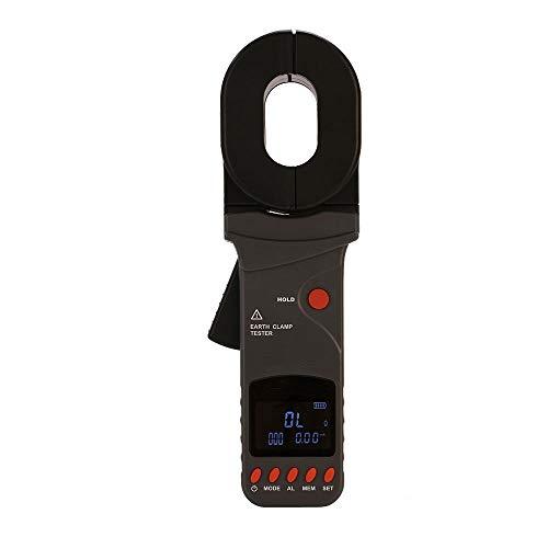 HEQIE-YONGP Medidor de Resistencia Resistencia FR2000C + Pinza de Masa Medidor de Resistencia Tierra Metro de la Abrazadera Loop Tester probador de la Salida Actual