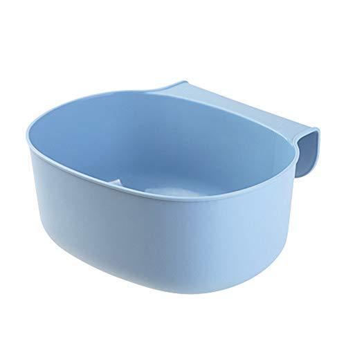 9302sonoaud Poubelle Suspendue à Porte d'armoire de Cuisine Poubelle Peut contenir Un conteneur Divers Bleu