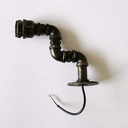 FACAIA Loft Vintage Edison Lámpara de Pared Personalizada Iluminación de Barra Industrial Vintage Tubería de Agua Lámpara de Pared E27 Lámparas Retro