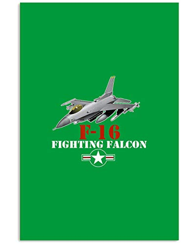 AZSTEEL F 16 Military Air Force F16 Fighter Jet