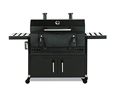 Masterbuilt MB20040919 Charcoal Wagon Grill, 36 inch, Black