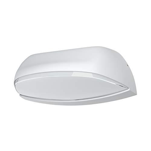 Ledvance - Plafón de pared y techo exterior aluminio blanco 12w