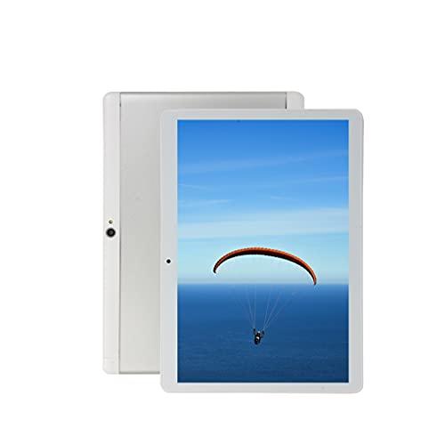 Android Tablet 10 Zoll, Octa-Core 1,5 GHz Prozessor, 1280x800 IPS HD Bildschirm, 4GB RAM, 64GB Speicher, Kamera, WLAN, 128GB Erweitern (MicroSD-Karte Nicht enthalten)