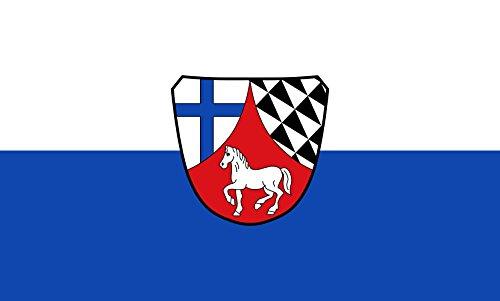 Unbekannt magFlags Tisch-Fahne/Tisch-Flagge: Kirchdorf 15x25cm inkl. Tisch-Ständer