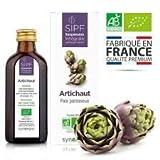 Artichaut bio français Solution buvable de plantes fraîches Detox naturelle du foie Origine France certifiée Certifié AB