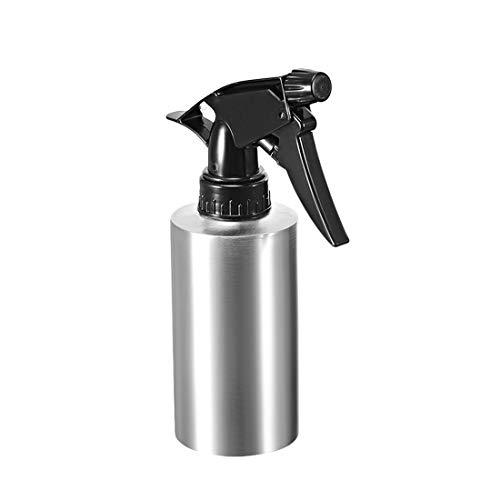 Uxcell Botella de spray 304 de acero inoxidable con pulverizador fino, contenedor vacío rellenable