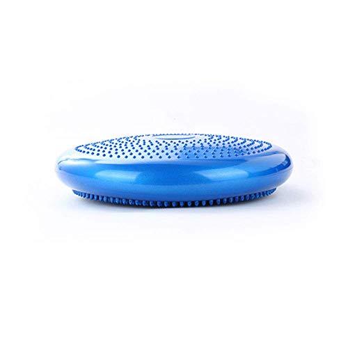 XJZSD Balance-Pad aufgeblasenes Wackelnkissen, flexibel hochwertiger auslauffreier ultradicker Stabiler Kernschwingen mit freier Luftpumpe für Büro, Haus und Schule