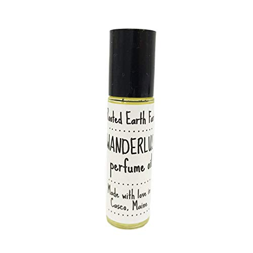 Wanderlust Perfume Oil Made with Pure Essential Oils Lavender Sweet Orange Grapefruit Travel Stress