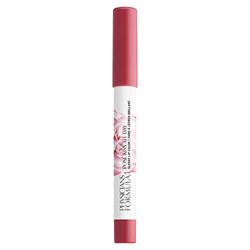 Physicians Formula Rosé Kiss All Day Lip Gloss, Blushing Mauve, 0.15 Ounce