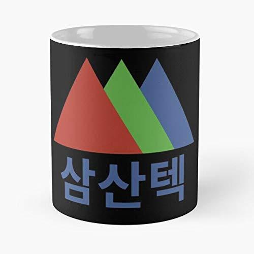 Mountain Start Up Tech Technology Samsan Startup Mejor Taza de café de cerámica de 11 oz Personalizar