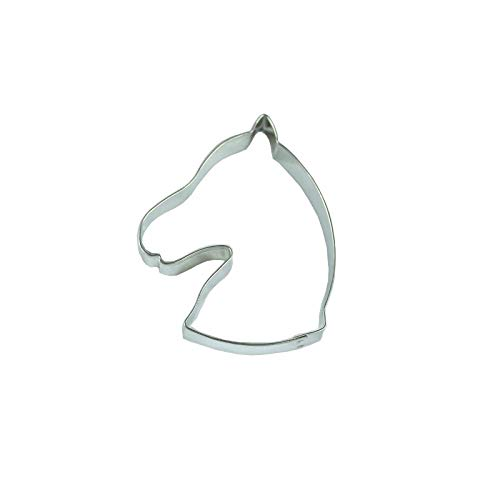 Ausstechform Pferdekopf, 8cm, Edelstahl