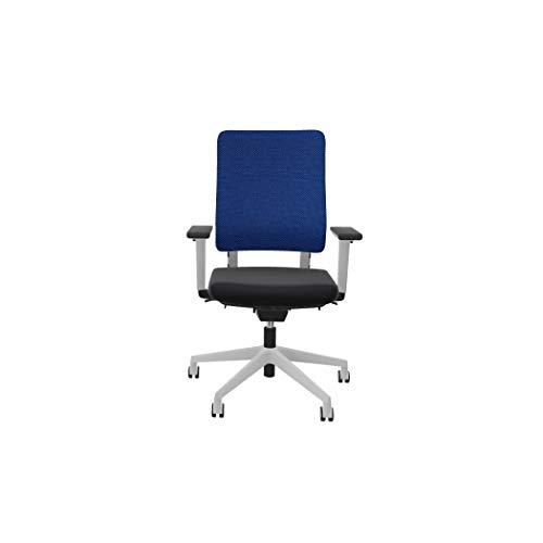 Viasit Drumback Work@Home Edition, telegrau, Bürostuhl für Zuhause (blau)
