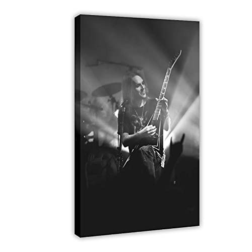 Alexi Laiho Children of Bodom One of The Most Talented Guitar Players in The World And Finnish Melodic Death Metal Canvas Poster Bedroom Decor Sports Landscape Office Room Decor Gift DONGDA Poster 20×