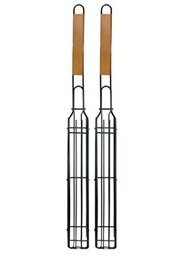 Mr. Bar-B-Q 06075Y 2-Pack Kit, Single Kabob Baskets