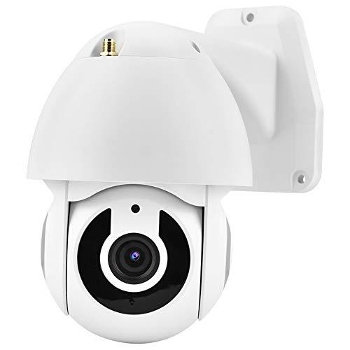DAUERHAFT Cámara de Seguridad con micrófono Incorporado y Altavoz de ABS Cámara de Seguridad para garajes para comerciales(European regulations)