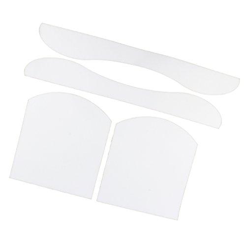 T TOOYFUL Dickes Skateboard Longboard Griptape Deck Schützen Sandpapier Sticker Longboard - Transparent
