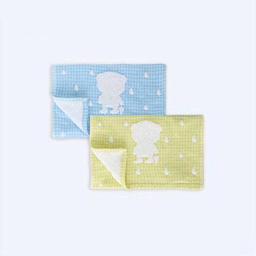 MXJ61 Gaze bébé Coton Serviette Bavoirs Mouchoir Nouveau-nés 2 pcs/Ensemble (Taille : 3 Set)