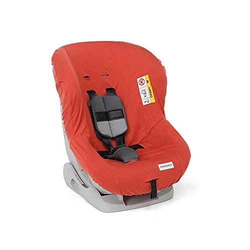 Foppapedretti Funda para silla de coche Mydrive, color rojo