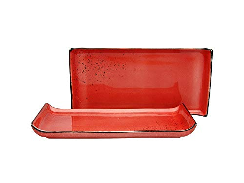 Creatable 20074 BBQ Platte Red Nature Collection 33 x 16,5 cm