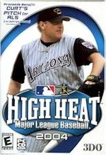 High Quality 3Do High Heat Major League Baseball 2004 Games Volume Sports Windows 98 Me 2000 Xp