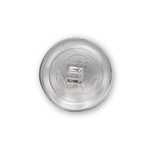 Silikon 50 x Brillenglas Nasenpads Silikon Rund 9mm Drücken & Schrauben Einstecken